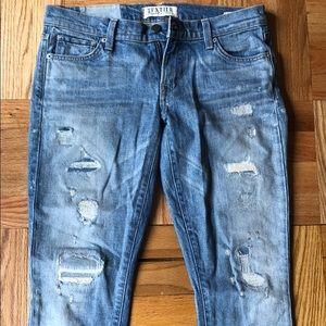 Elizabeth & James Ozzy distressed skinny jeans
